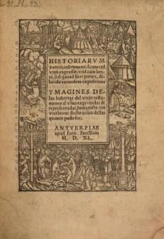 Ymagines Servetus Stelsius 1540
